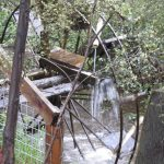 Water Wheel on Yea River boundary of garden